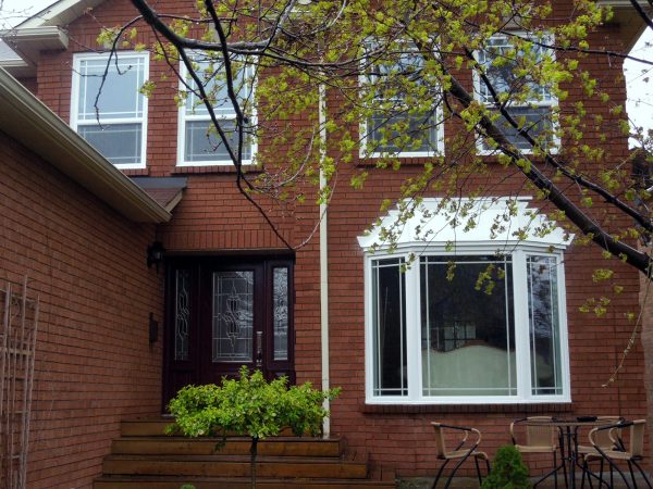 Post renovation - House front