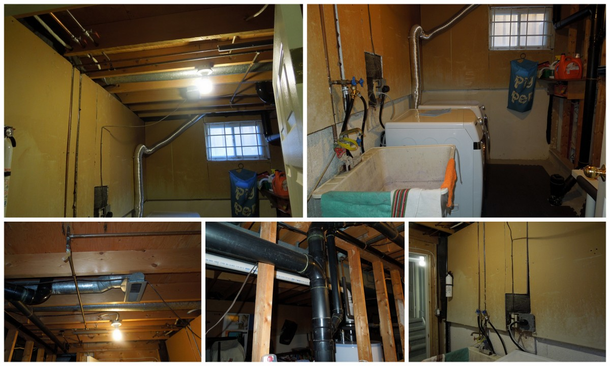 Unfinished Basement Before And After Basement Renovation Before