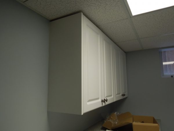 Basement renovation - Cupboards and ceiling