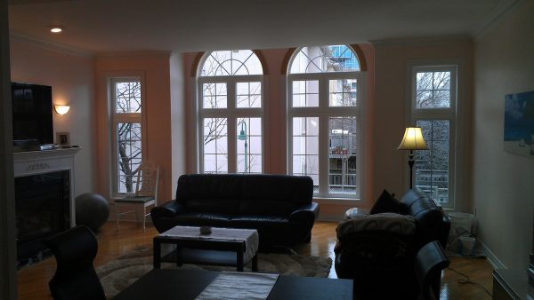 Inside the home - the new windows