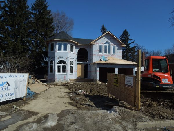 New home project site