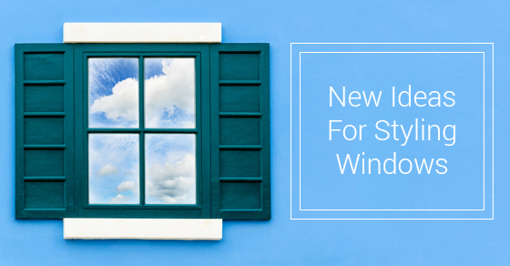Ideas For Styling Windows
