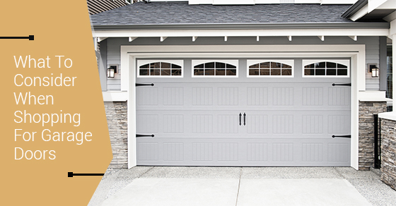 5 options to consider when shopping for garage doors heritage home design - Types doors consider home ...